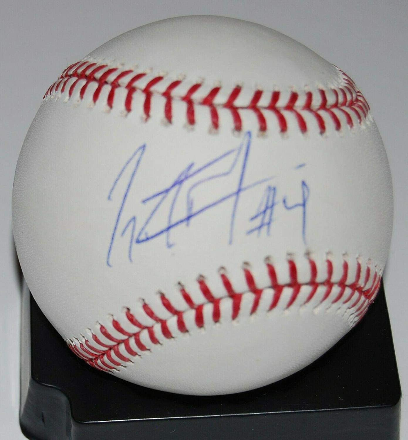 GERALDO PERDOMO signed (ARIZONA DIAMONBACKS) OML Major league baseball W/COA - NFL Autographed Miscellaneous Items