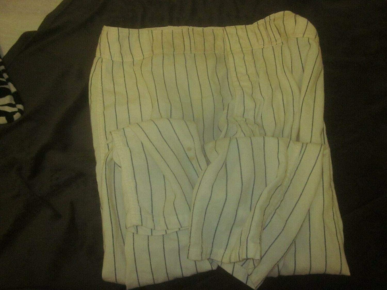 1961 Washington Senators Game Used Home Pinstripe Pants - Game Used MLB Pants