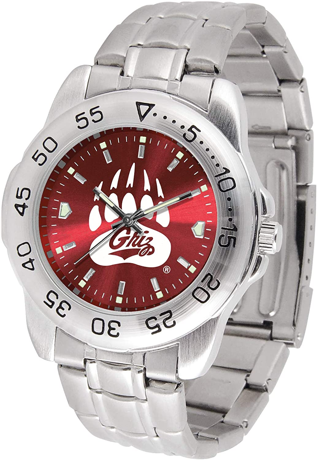 NCAA Montana Grizzlies AnoChrome Sport Watch
