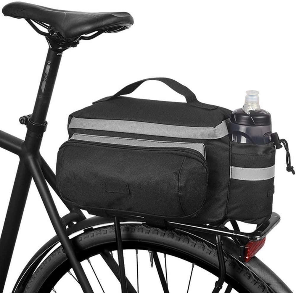 Roswheel Multifunctional Mountain Bike Saddle Basket Bicycle Rear Rack Bag