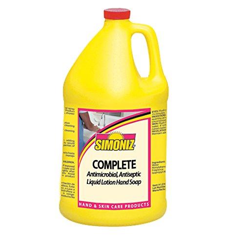 Simoniz A0065004 Complete Hand Soap, 1 gal Bottles per Case (Pack of 4)