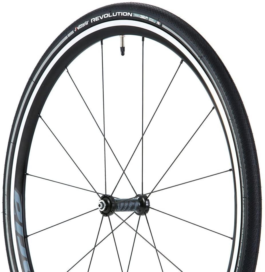 Vittoria Revolution G+ Graphene Wire Bead Tires Pair 700x28c Black Reflex