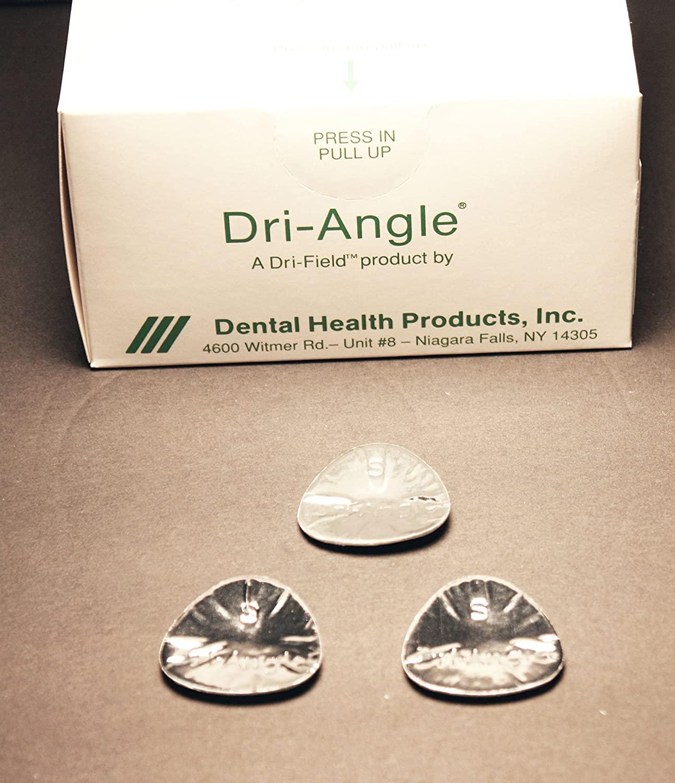 Dental Health Products Inc 32-SAG20 Dri-Angle Small Silver 200/pk