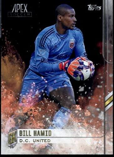 2015 Topps Apex MLS #87 Bill Hamid D.C. United Soccer Card