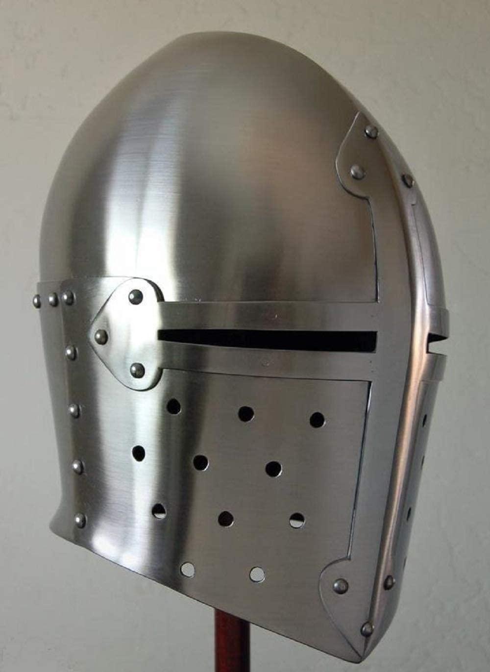 Trinity arms Medieval Armour Helmet Roman Knight Helmets-with Inner Liner. Sugar lafe
