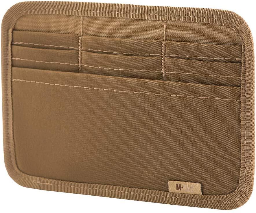 M-Tac Tactical Bag Insert Modular Organizer Utility Admin Pouch Hook Fasteners - Wallet