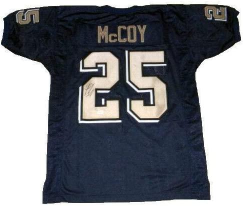 LeSean McCoy Autographed Jersey - PITT #25 - JSA Certified - Autographed College Jerseys
