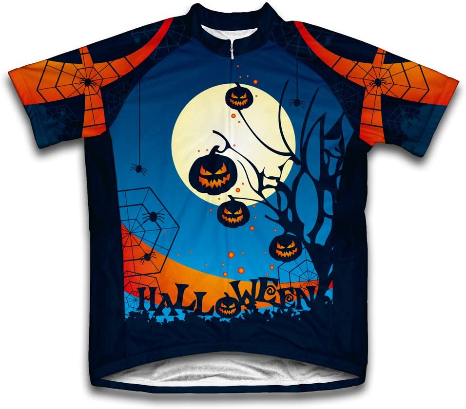 ScudoPro Midnight Creeps Short Sleeve Cycling Jersey for Youth