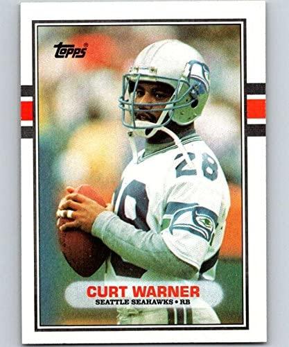 1989 Topps #186 Curt Warner Seahawks NFL Football