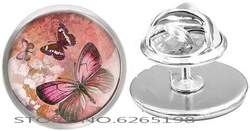 Butterfly Charm Brooch Minimalist Simple Brooch,Handmade Butterfly Brooch,Simple Everyday Jewelry,N041
