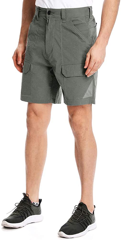 Toomett Hiking Shorts Men Quick Dry UPF 40, Outdoor Lightweight Sports Casual Stretch Shorts