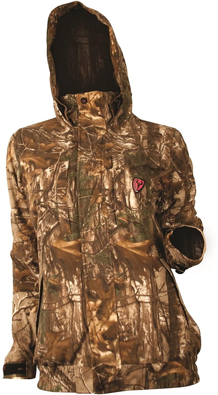 SCENTBLOCKER Women's Sola Outfitter Jacket, Mossy Oak Country, X-Large