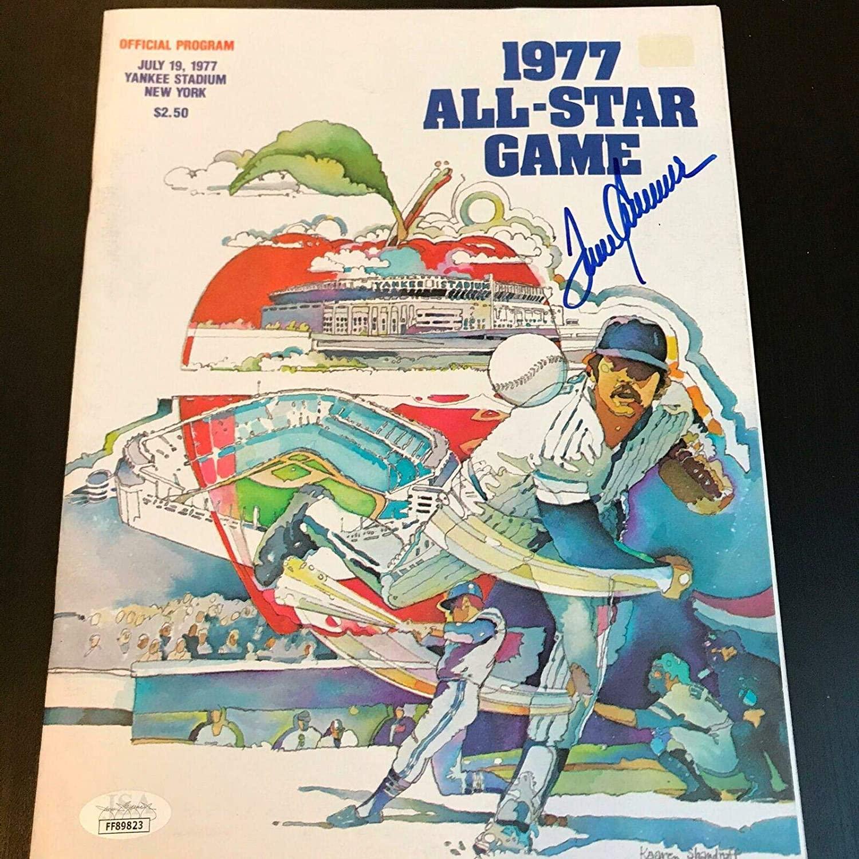 Tom Seaver Signed Original 1977 All Star Game Program With COA - JSA Certified - Autographed MLB Magazines