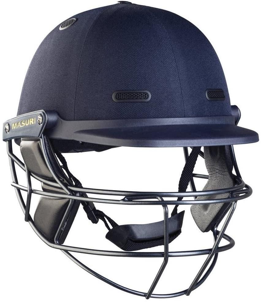 MASURI M-VSTSLN Vision Series Test Steel Cricket Helmet