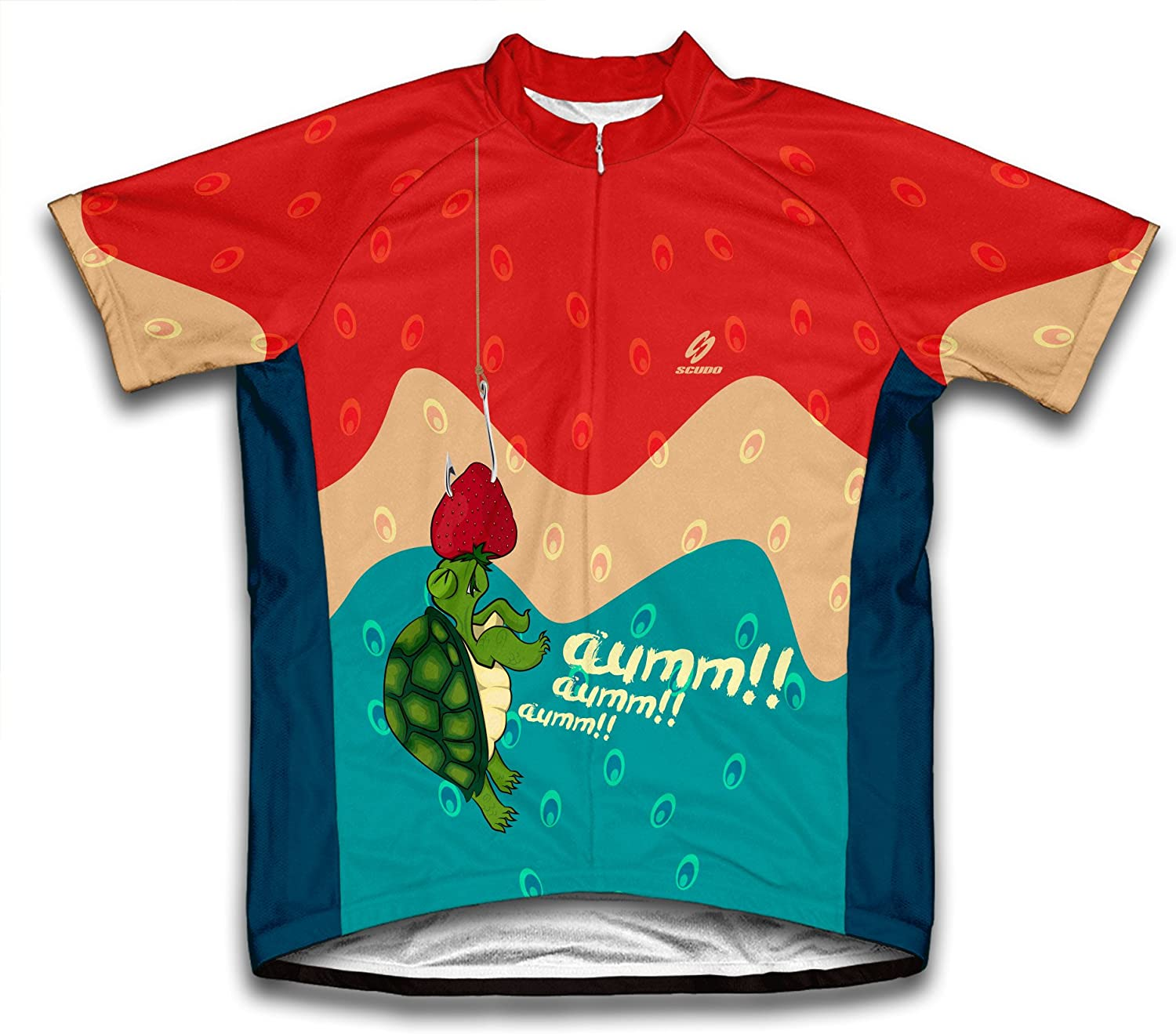 ScudoPro Oops Turtle Short Sleeve Cycling Jersey for Men - Size 2XL