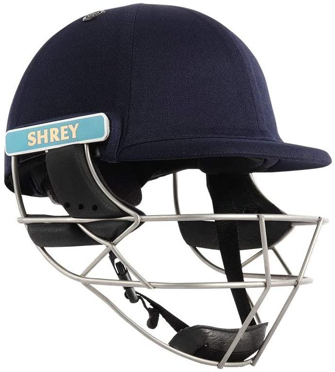 WHITEDOT SPORTS Shrey Master Class Air Stainless Steel Visor Cricket Helmet Size Small