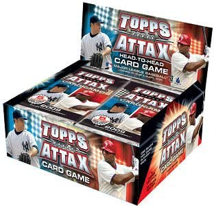 2009 Topps Attax Baseball Card Game - New Head-to-Head Action! - Sealed Box of 36 Packs