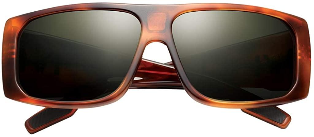 IVI Jiving Sunglasses - IVI Men's Fashion Eyewear - Classic Tortoise/Green-Grey / One Size Fits All