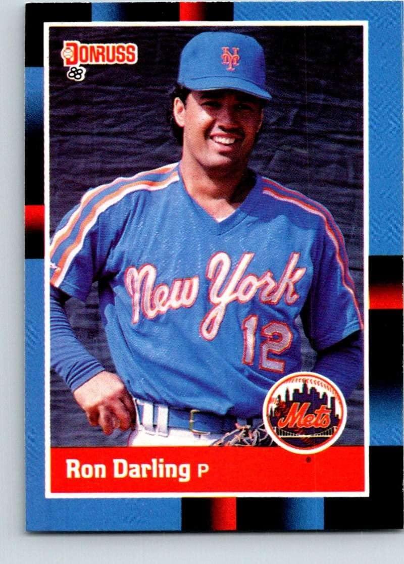 1988 Donruss #76 Ron Darling Mint Baseball MLB Mets