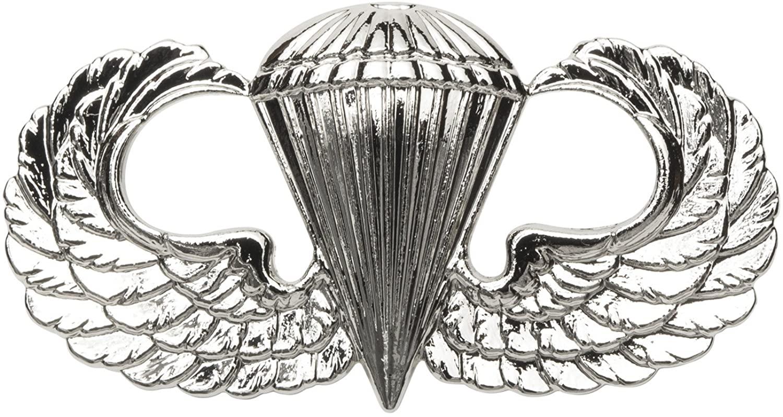 Basic Parachutist Badge, Fullsize, US Army