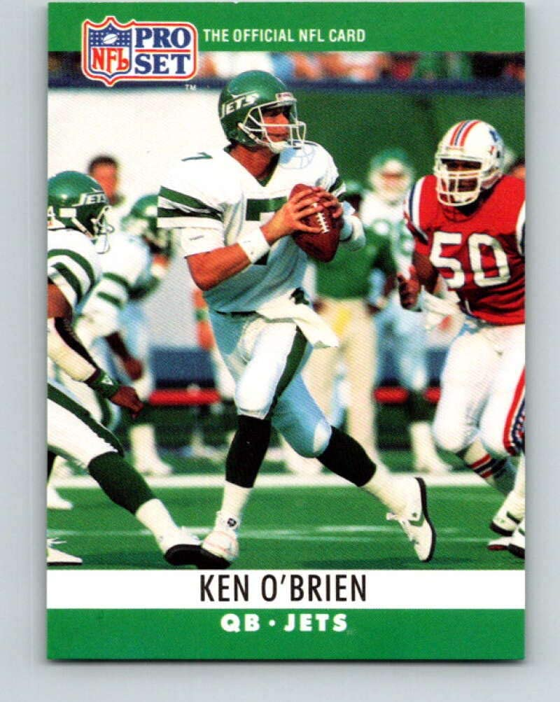 1990 Pro Set #239 Ken OBrien Mint Football NFL NY Jets