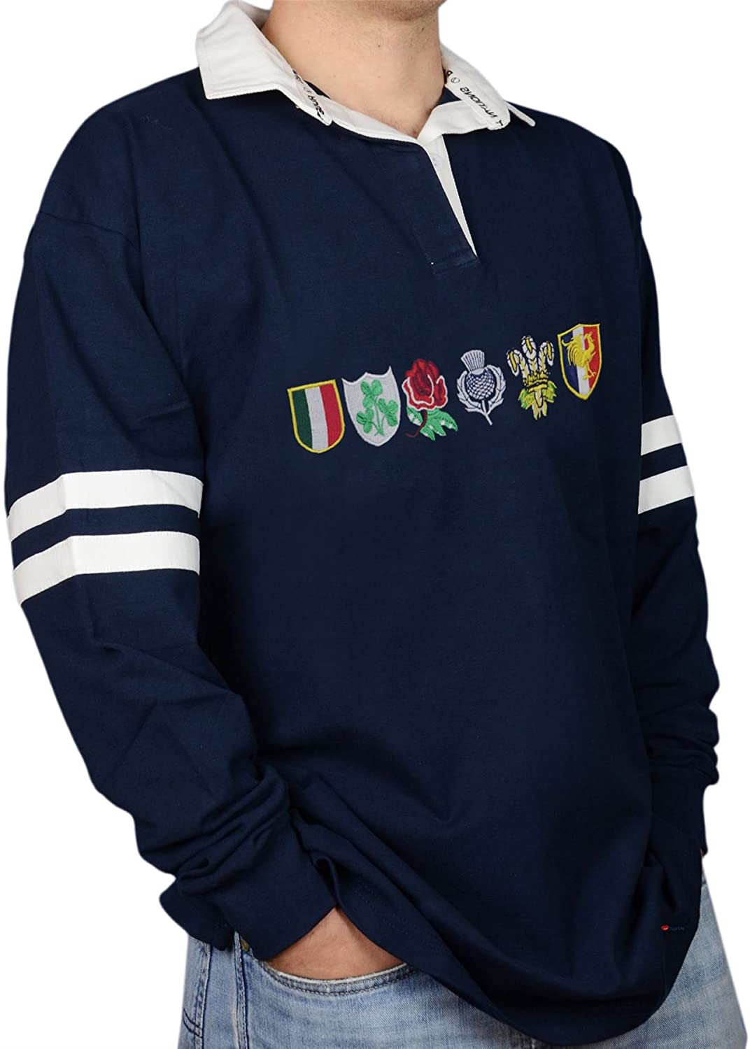 Rugby Shirt Six Nations option
