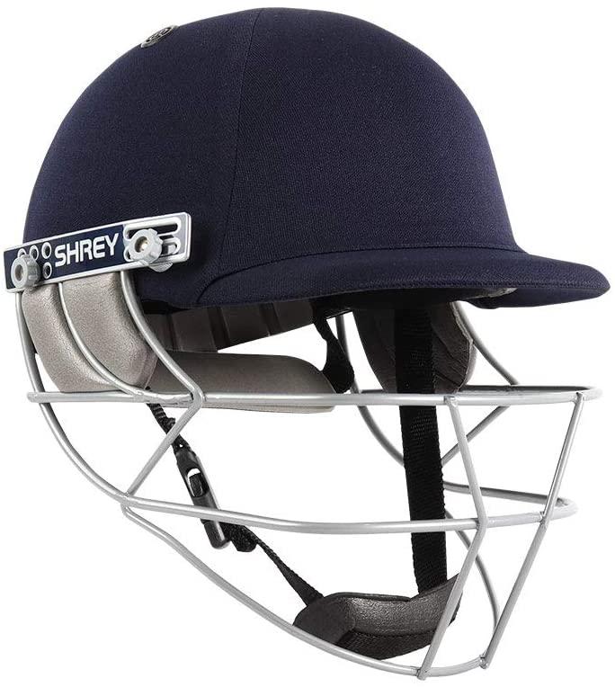 WHITEDOT SPORTS Shrey Match Mield Steel Visor Cricket Helmet Size Medium