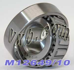 M12649/M12610 Taper Roller Wheel Bearings Tapered Bearing 0.844 inch x 1.968 inch x 0.69 Inch Cone and Cup Included