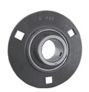 FYH Bearing SAPF207 35mm Stamped steel round three bolt Flanged