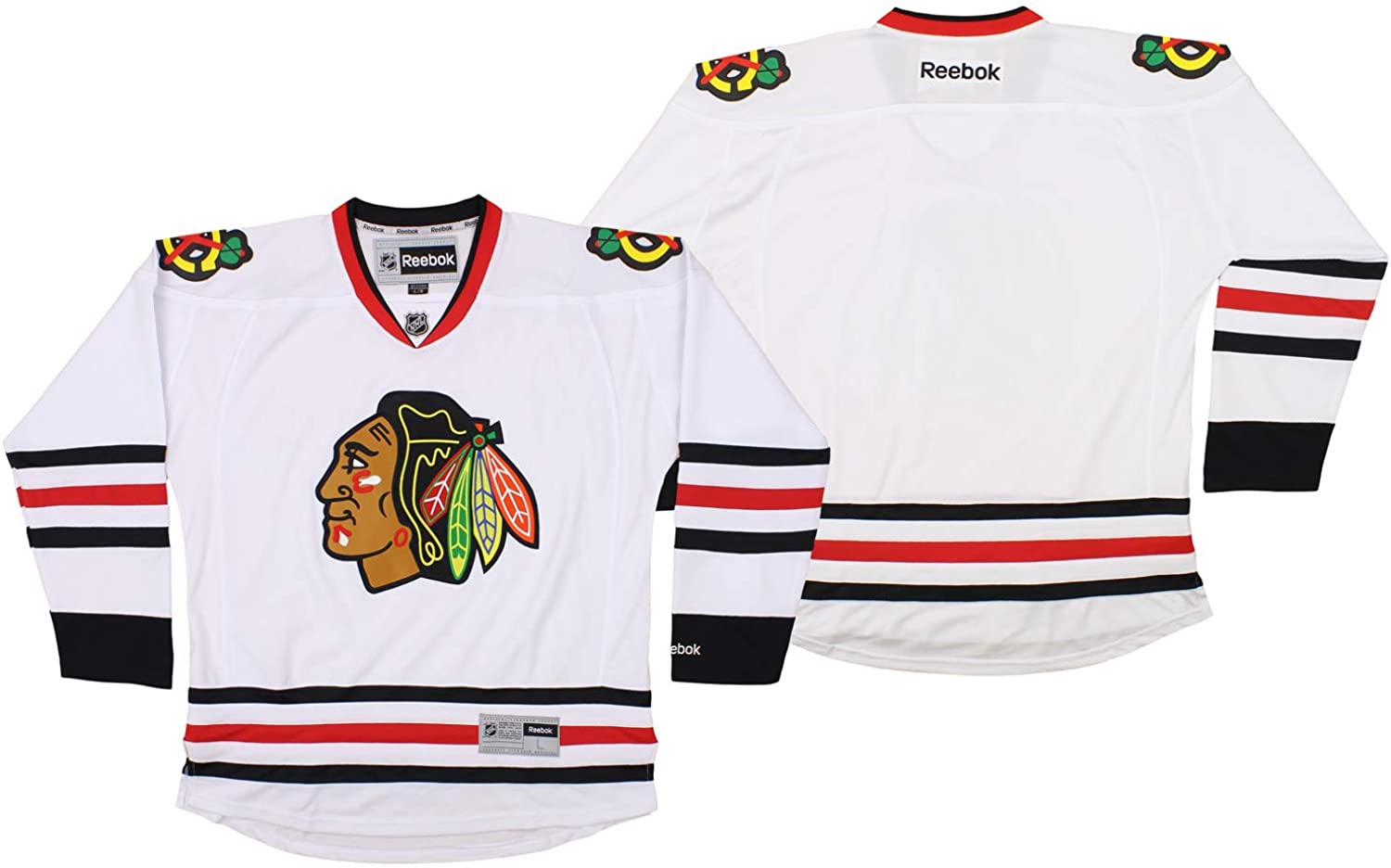 Reebok Chicago Blackhawks NHL Mens Premier Jersey, White