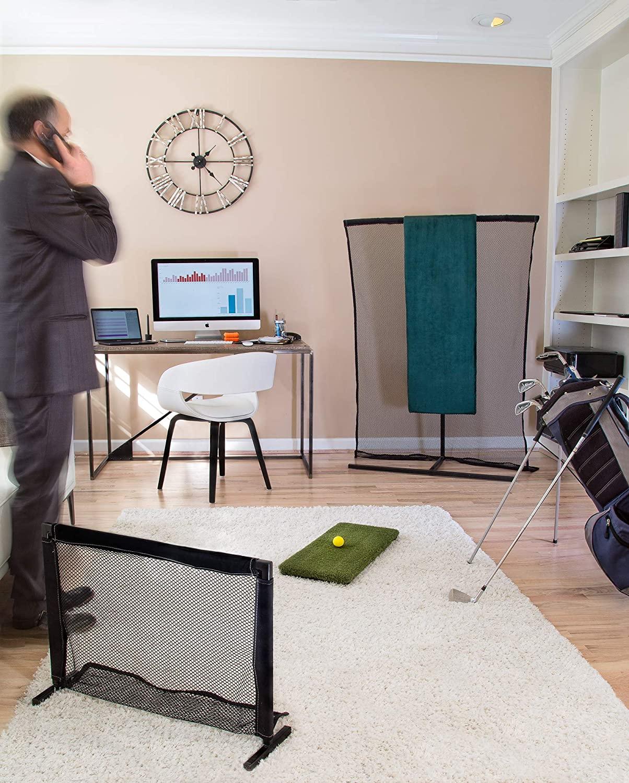 Golf Rebounder - Ultimate Golf Swing Calibration - Indoor Practice Golf Net