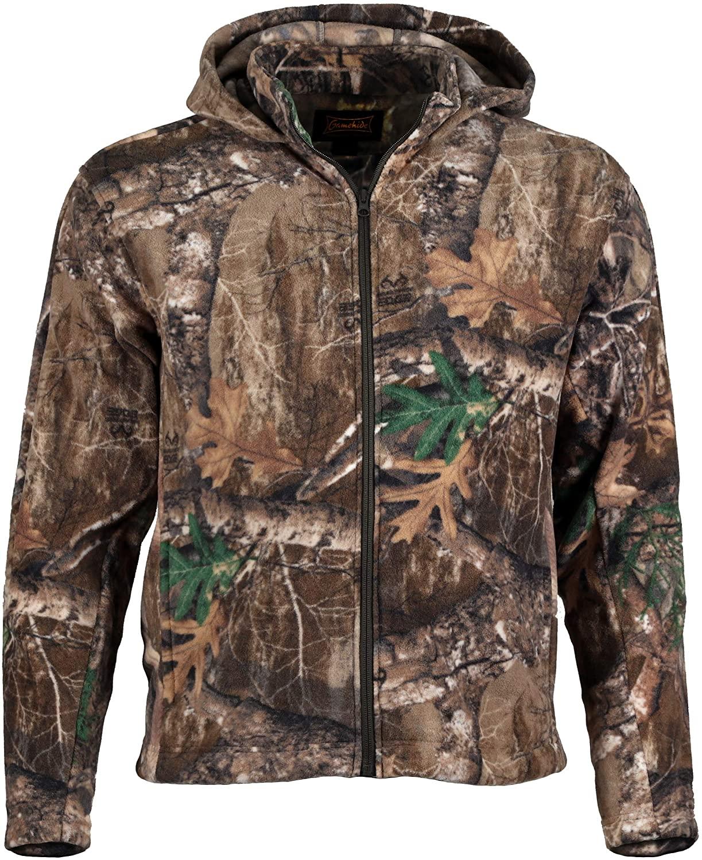 Gamehide Trekker 300 Gram Fleece Full Zip Jacket