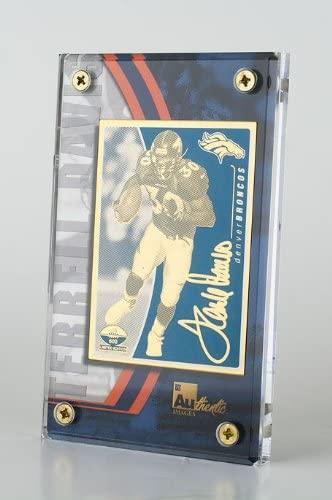 Terrell Davis 1999 NFL Series 24k Metal Gold Card's Lot Of 25