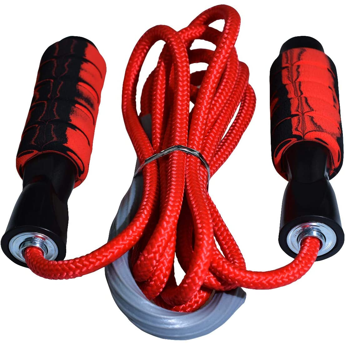 SportMore Jump Rope,Tangle-Free with Foam Handle