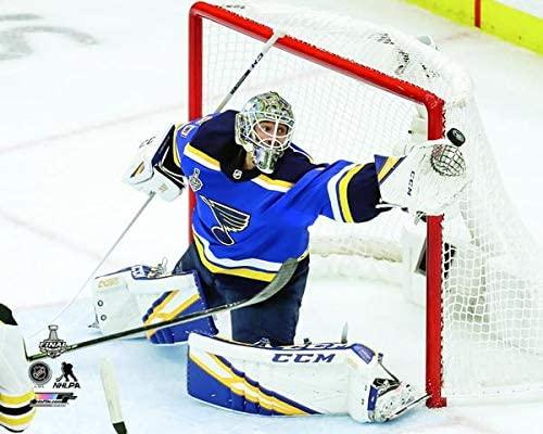 Jordan Binnington St. Louis Blues 2019 NHL Stanley Cup Finals Photo (Size: 8