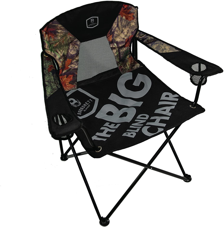 Barronett Blinds BA800 Big Blind Folding Chair, Camo/Black