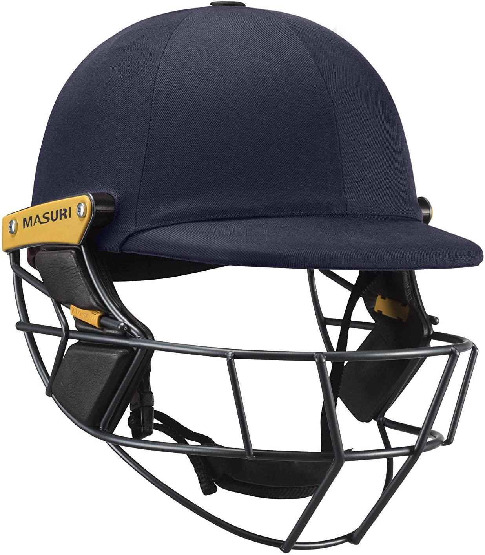 Masuri Original Series Mark II Test Titanium Senior Cricket Batting Helmet (Navy)