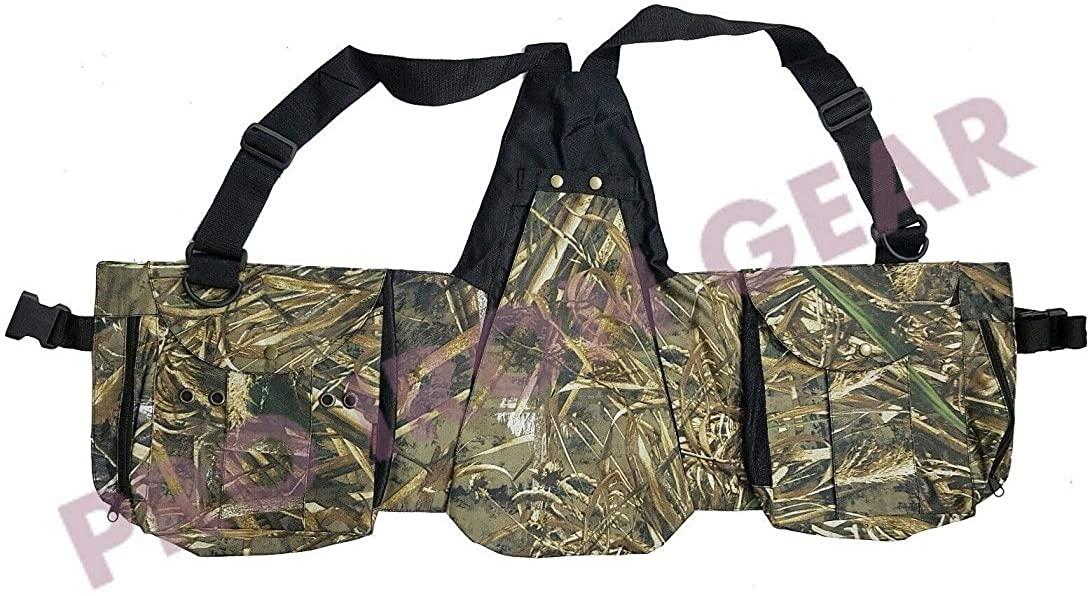 Camouflage Falconry Cordura Vest, Hawking, Hunting, Jungle, Wild Vest (M,L,XL,XXL)