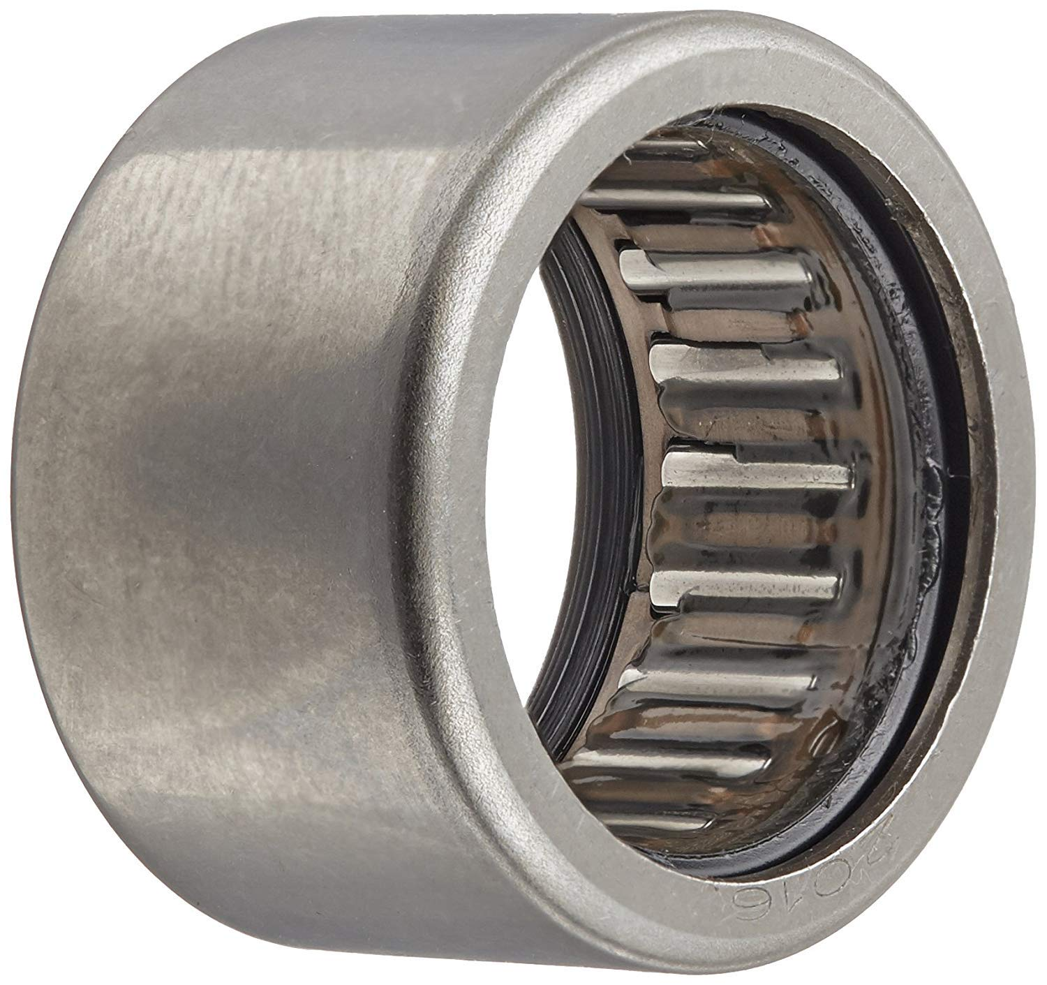 Koyo HK5024.2RS Needle Roller Bearing, Caged Drawn Cup, Outer Ring and Roller, Steel Cage, Open End, Double Sealed, Metric, 50mm ID, 58mm OD, 24mm Width