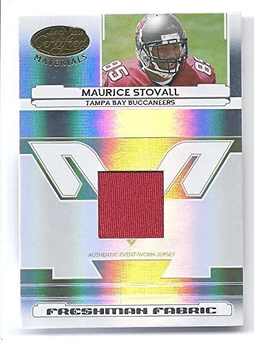 MAURICE STOVALL 2006 Leaf Certified Materials #226 JERSEY Rookie Card RC #0274 of only 1400 Made! Tampa Bay Buccaneers Football