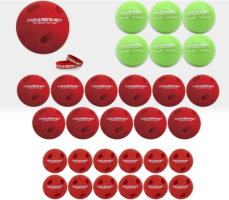 PowerNet Ultimate Power & Coordination Bundle for Baseball Softball   Enhance Eye Focus, Swing Accuracy   Includes 2.8