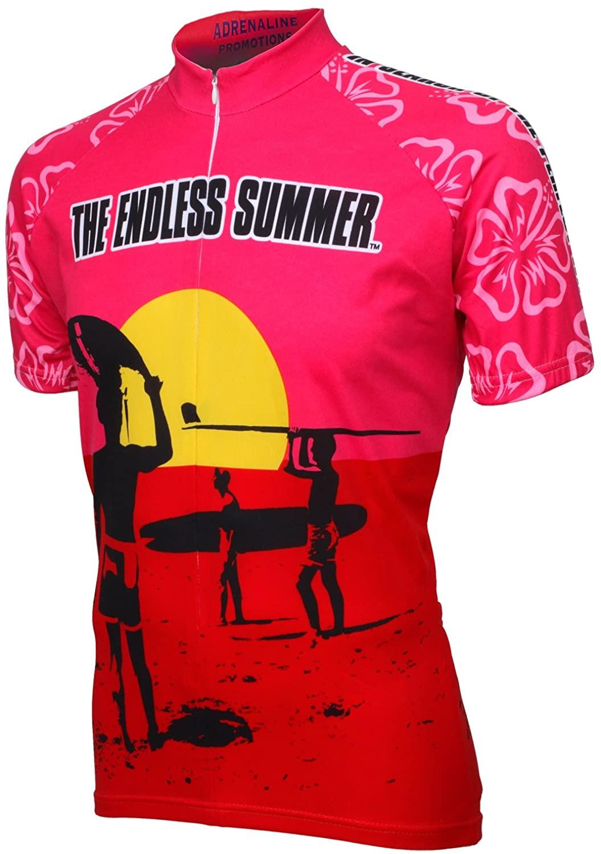 Adrenaline Promotions Men's Endless Summer Short Sleeve Cycling Jersey