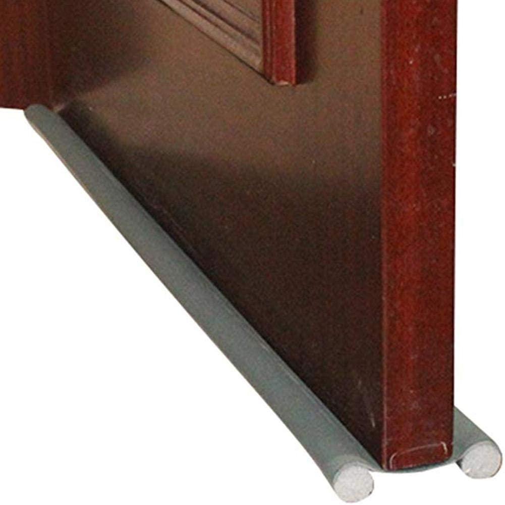 BKMM Door Bottom Sealing Strip, Wind Plug, Weather Stripping Noise Blocker, Window Breeze Blocker