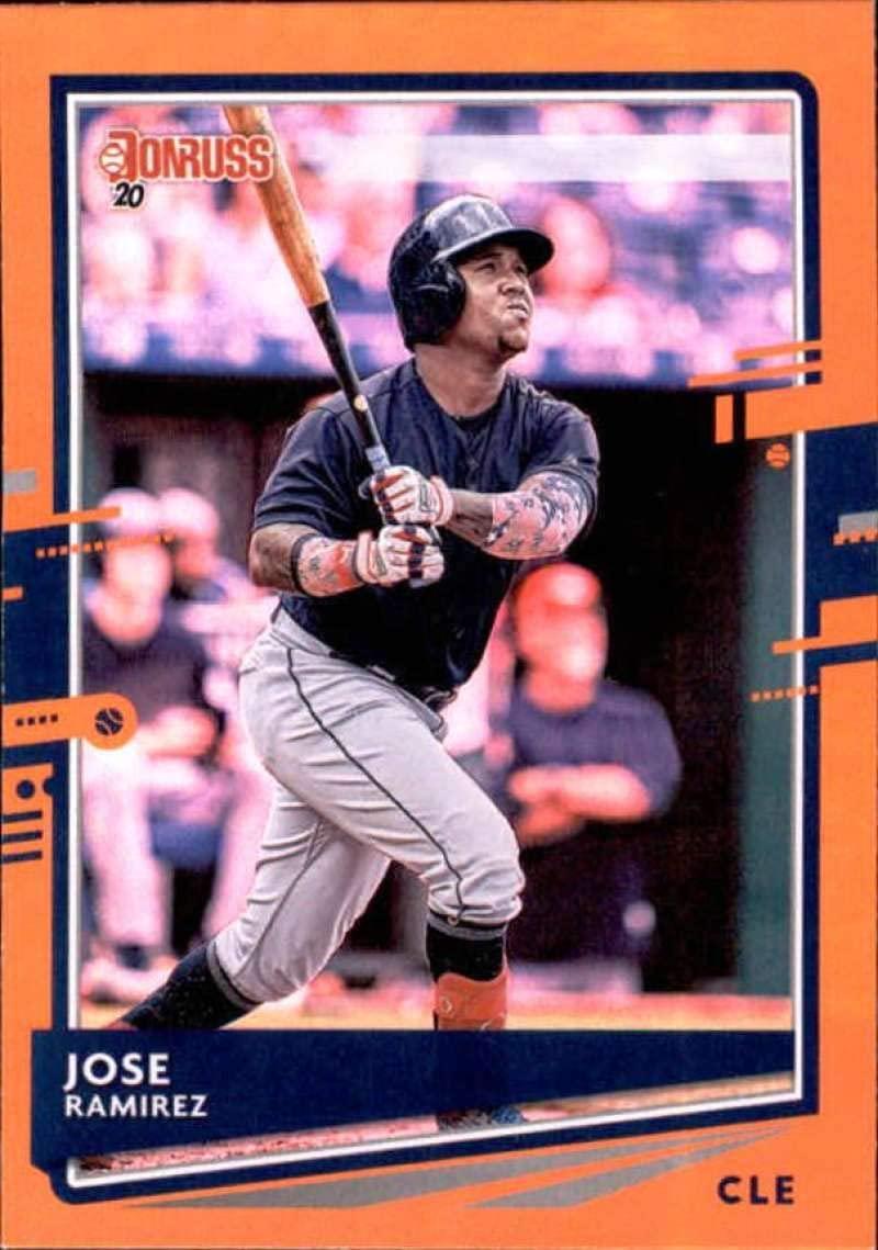 2020 Donruss Holo Orange #158 Jose Ramirez NM-MT Indians