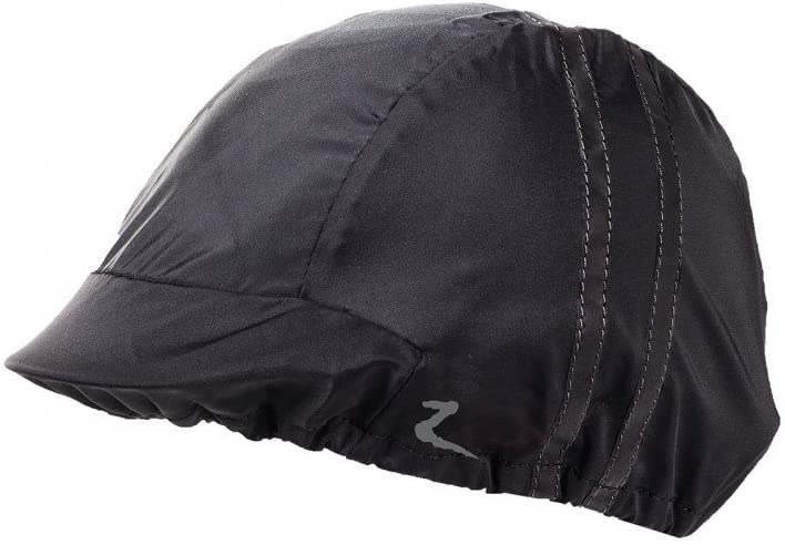 Horze supreme-dark-reflective-safety-helmet-cover-black-one-size