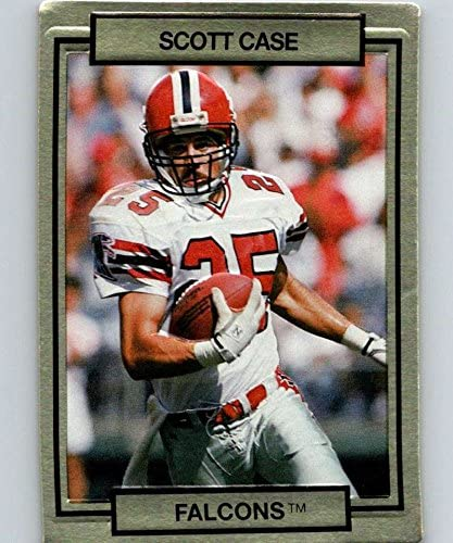 1990 Action Packed #2 Scott Case Falcons NFL Football