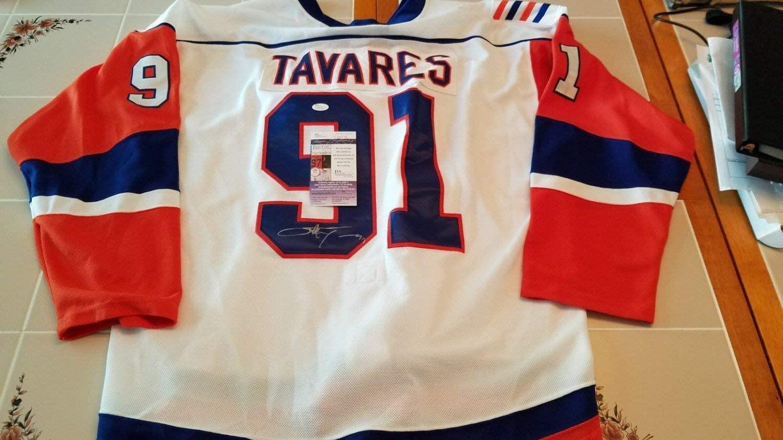 John Tavares Autographed Signed Custom Islanders Jersey JSA COA Xl Maple Leafs