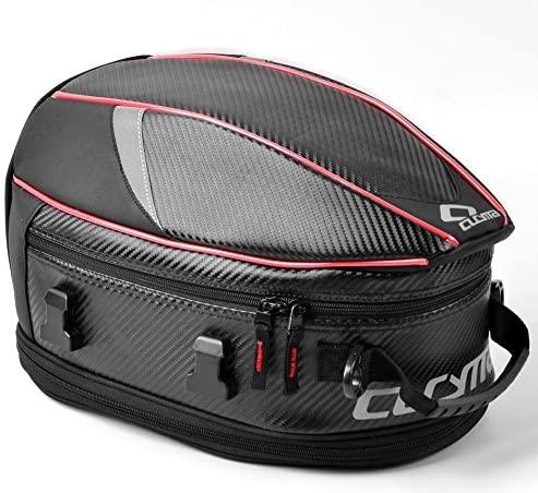 FHGJ Motorcycle Hard Case Seat Bag Motorcycle Rear Bag Rear Seat Bag For Yamaha Suzuki And Motorcycle