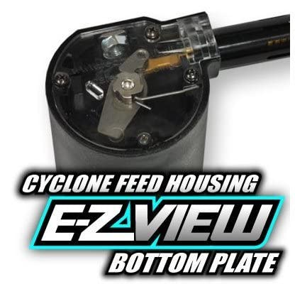 TECHT E-Z View Tippmann Cyclone Feed Cover (Clear)