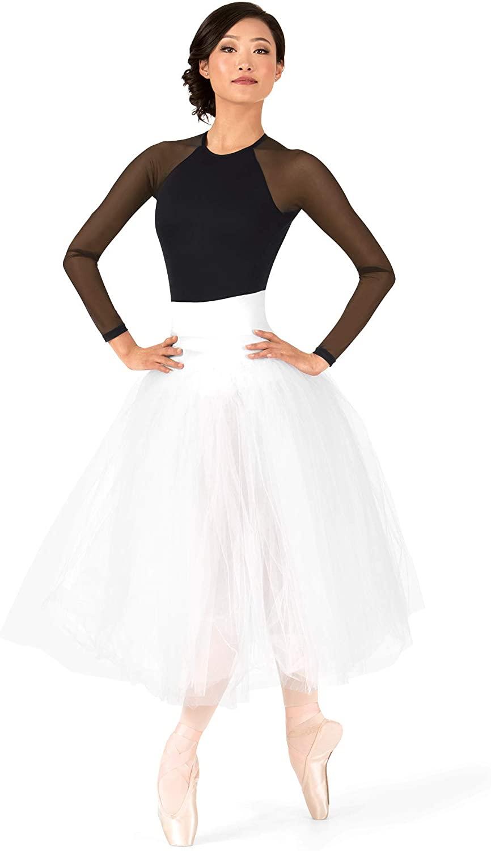 Natalie Dancewear Adult Secure High Waist Juliet Tutu N8894